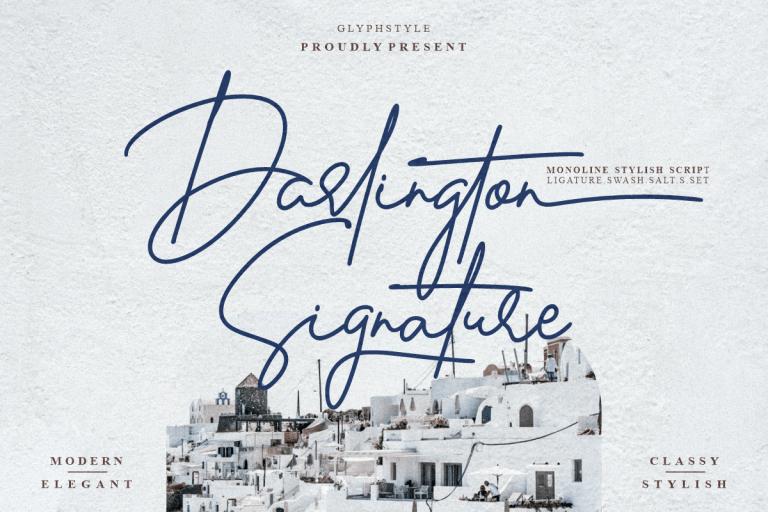 Preview image of Darlington Signature