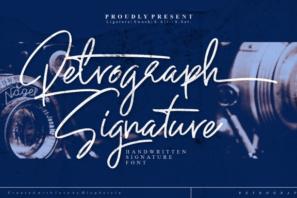Retrograph Handwritting