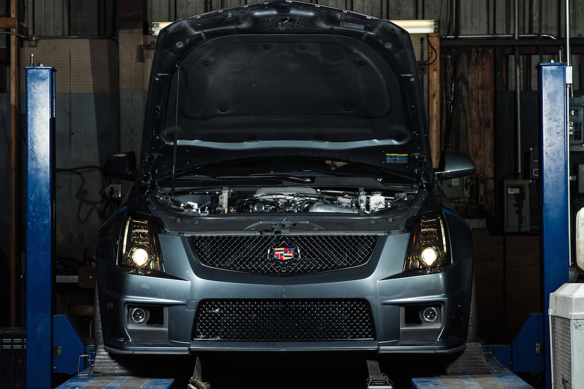 Gm Efi Magazine 2010 Cts V Lsa Wiring Diagram When Cadillac Released The First Model Of Its Everyone And Their Mother Took Notice Finally An American Four Door Sedan With A Manual Transmission