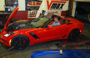 Fresh from its sprint from Bowling Green to Tampa, we strapped the car down at Antivenom Performance to see what we could get out of it. The Z06 didn't disappoint, cranking out 581 horsepower.