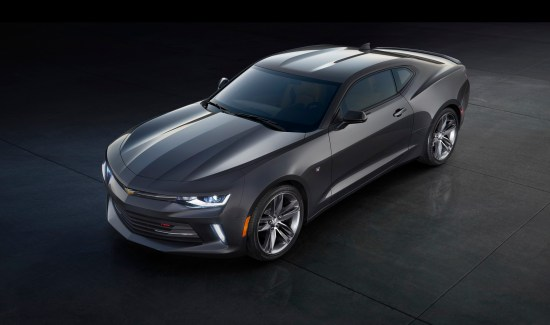 Chevrolet introduced the all-new 2016 Camaro on May 16, 2015. For the first time in the car's history, it is offered with a turbocharged engine – a new 2.0L turbo producing an estimated 270 horsepower and delivering an estimated 30 mpg highway.