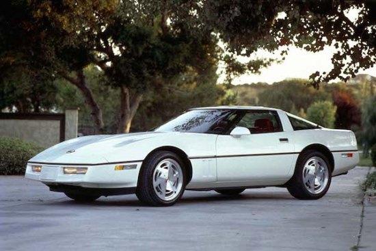1989 Chevrolet Corvette Coupe. W89HV_CH003