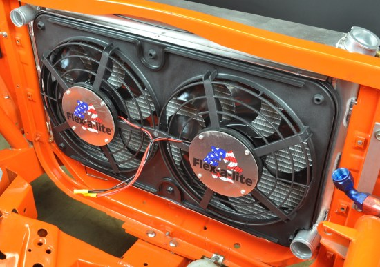 The cooling system is a vital part of building a performance car. Matching the heat transfer capability of both the radiator and the fan to the engine will result in a car and a car owner that doesn't lose his cool.