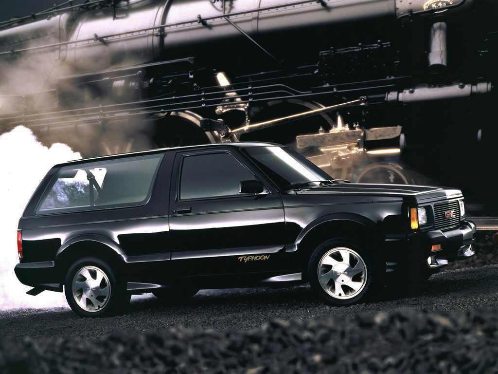 With the Syclone's winds calming down as quickly as they came, a new storm  truck called Typhoon was already blowing into GMC dealerships early in '92.