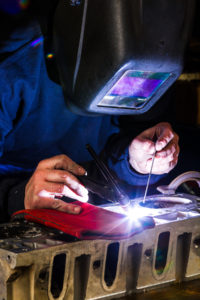 Highly skilled welding is at the core of the operations that allow AES to raise the bar in quality.