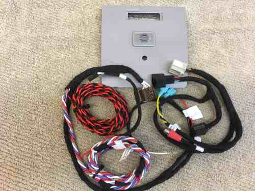 small resolution of 2014 2017 mylink intellilink wiring harness kit for 8 2014 2017 mylink intellilink wiring
