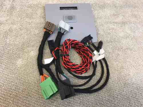 small resolution of 2014 2018 gmc sierra chevy silverado 7 screen upgrade harness for i0b system