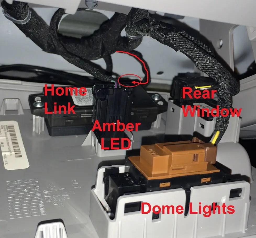 hight resolution of gm homelink wiring diagram wiring diagram forward adding home link 2014 2018 silverado sierra