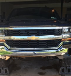 chevy colorado 2014 2016 newer front bumper removal 2014 2018 chevy [ 1240 x 968 Pixel ]