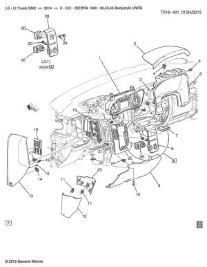 2014 Parts Diagrams  Service Manual  2014  2018 Chevy Silverado & GMC Sierra  GMTrucks