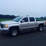 Gmc Sierra Leveled With Stock 18 S Pics 2014 2018 Silverado Sierra Mods Gm Trucks Com