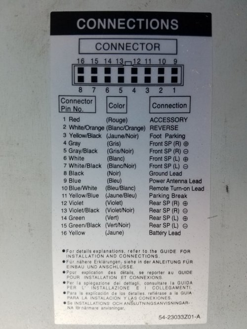 small resolution of bose speaker system need wiring diagram please 1999 2013 uq7 bose premium system speaker wiring