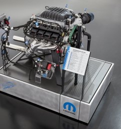 the hellcrate kit includes a powertrain control module pcm power distribution center engine wiring harness chassis harness accelerator pedal  [ 2000 x 1334 Pixel ]