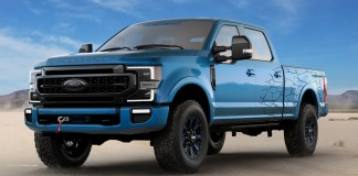 Ford Accessories F-250 Super Duty Tremor Crew Cab with Black App