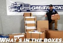 Chevrolet Performance Parts Unboxing