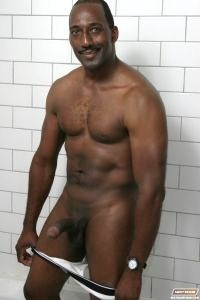 naked black uncut men