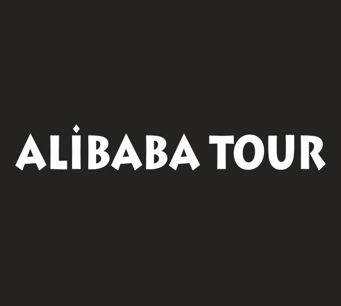 g-man creative alibaba tour logo
