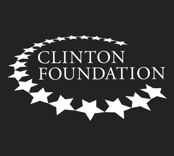 g-man creative clinton foundation logo