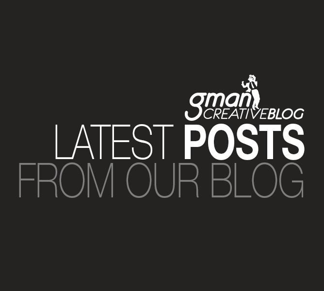 G-Man Creative blog banner