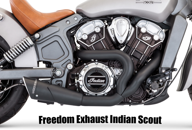 freedom exhaust indian scout 60 2016