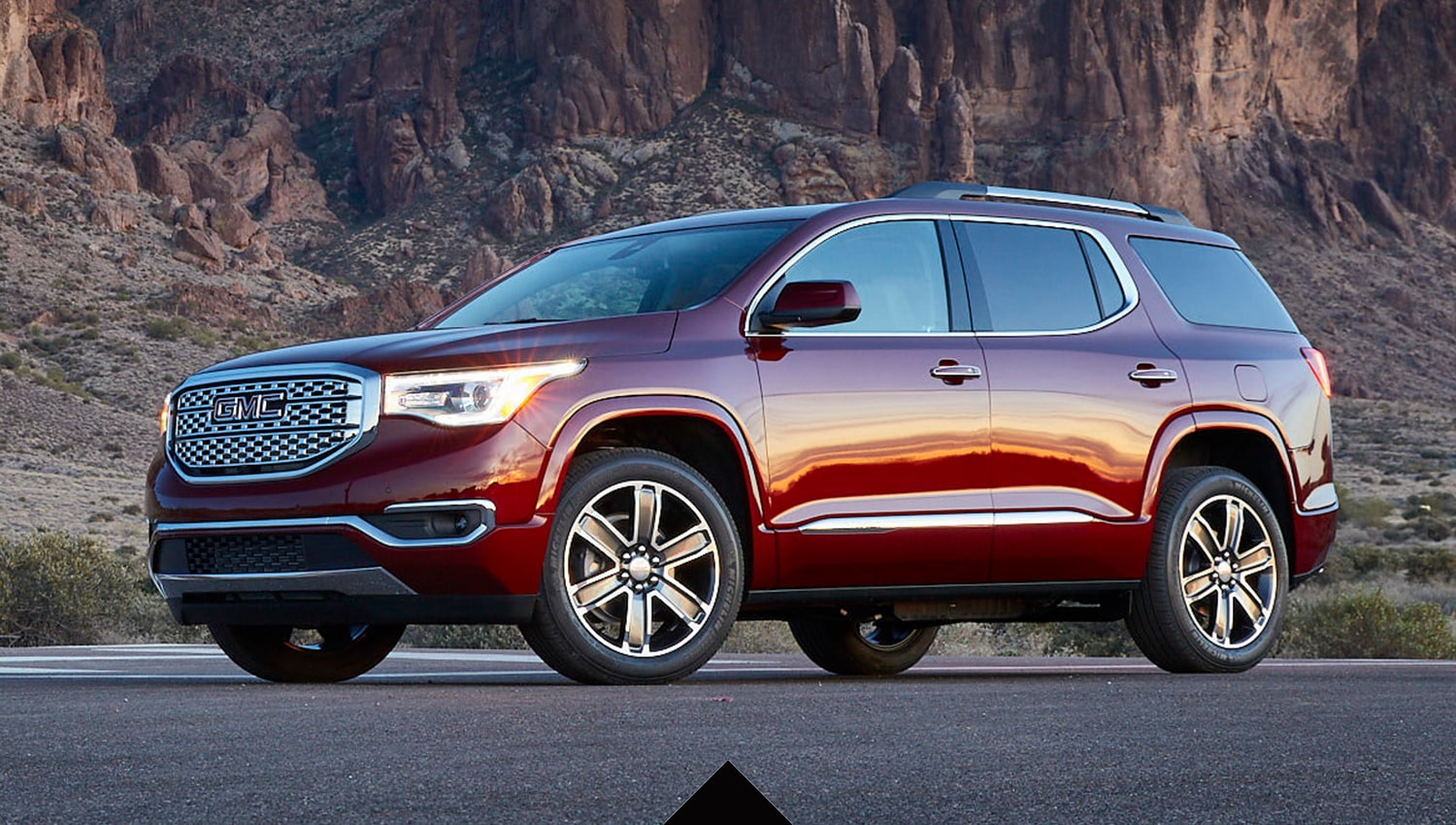 hight resolution of 2019 gmc acadia denali front exterior
