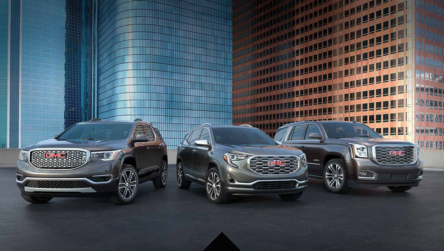small resolution of 2019 gmc suv lineup large retail event banner