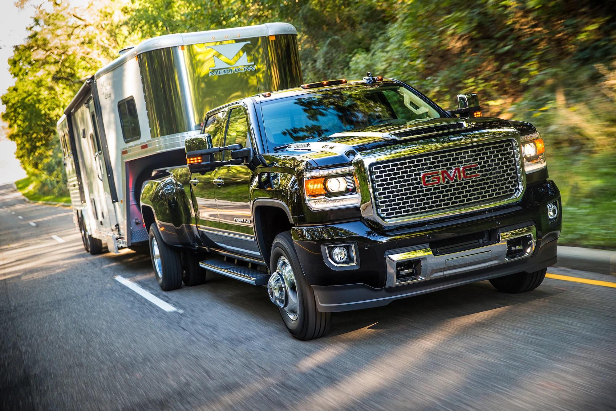 hight resolution of gmc life duramax diesel trailering