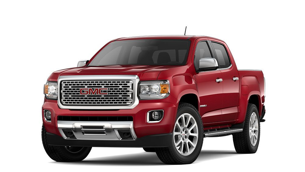 2020 gmc canyon msrp
