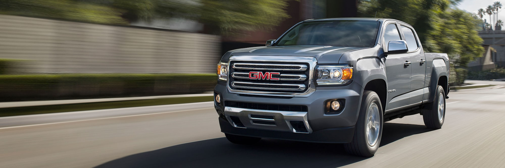 Exterior Features 2020 Gmc Canyon Sle Slt Small Truck