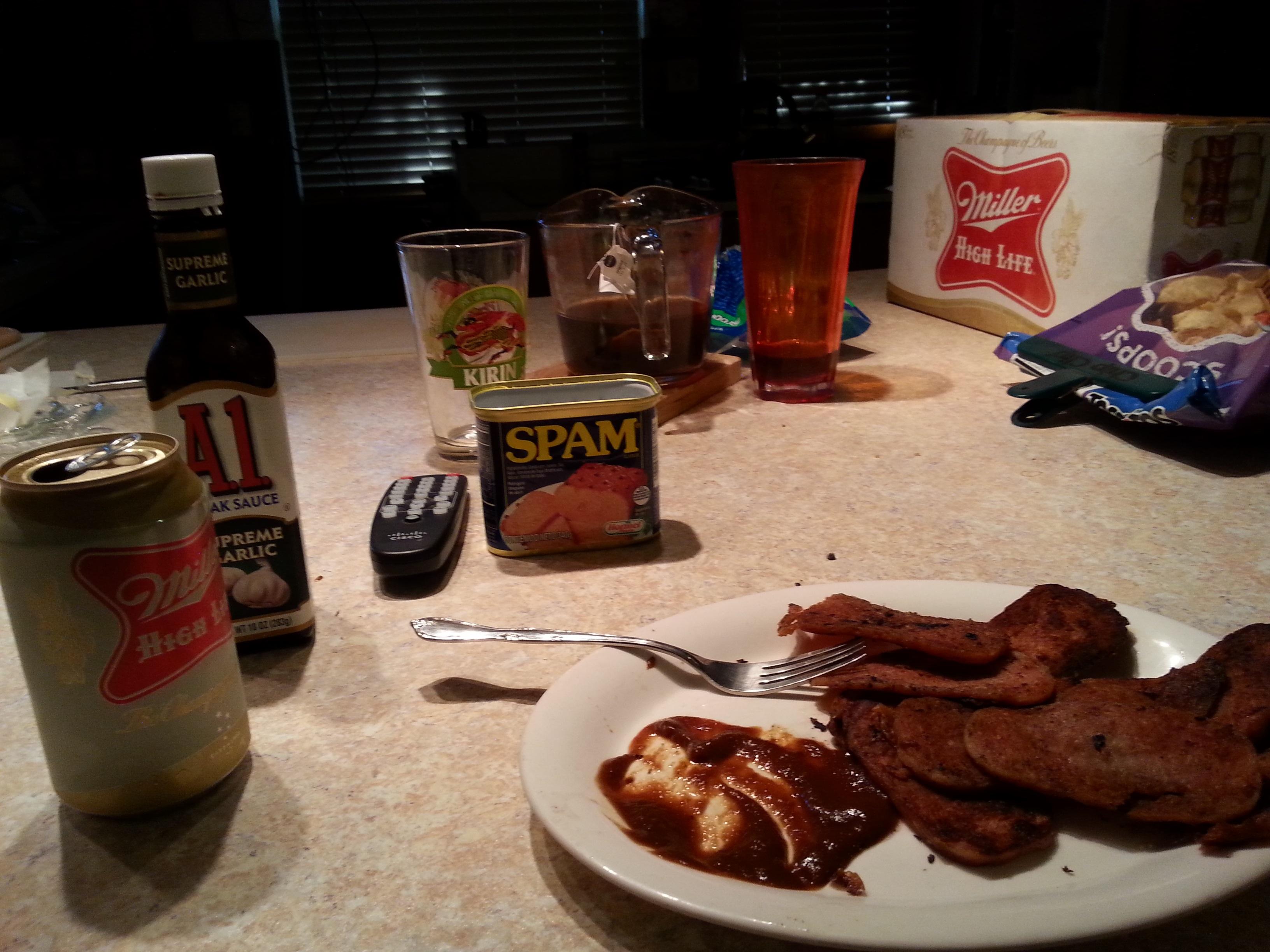 spam dinner 2