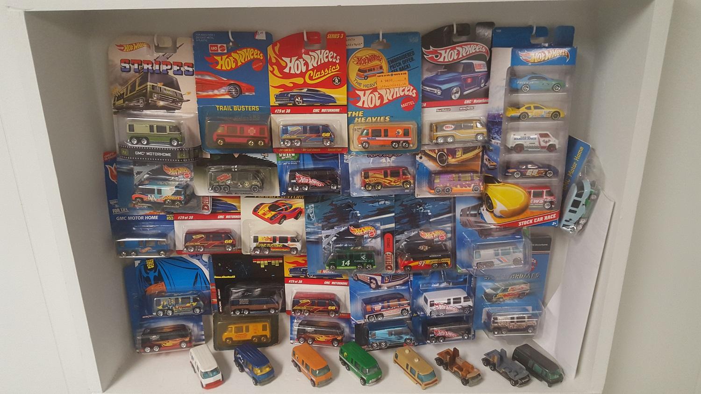 Hot Wheel shop display 1