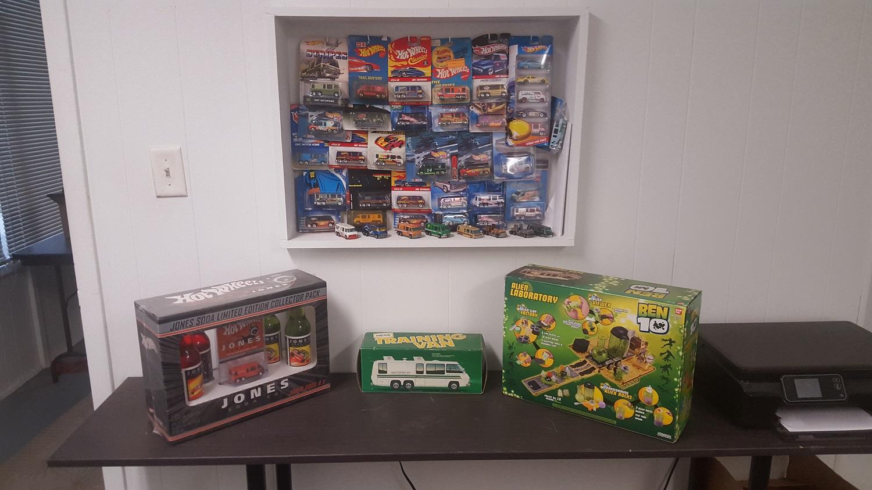 Hot Wheel shop display 2