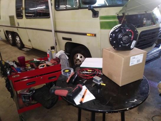 AC blower motor replace 18