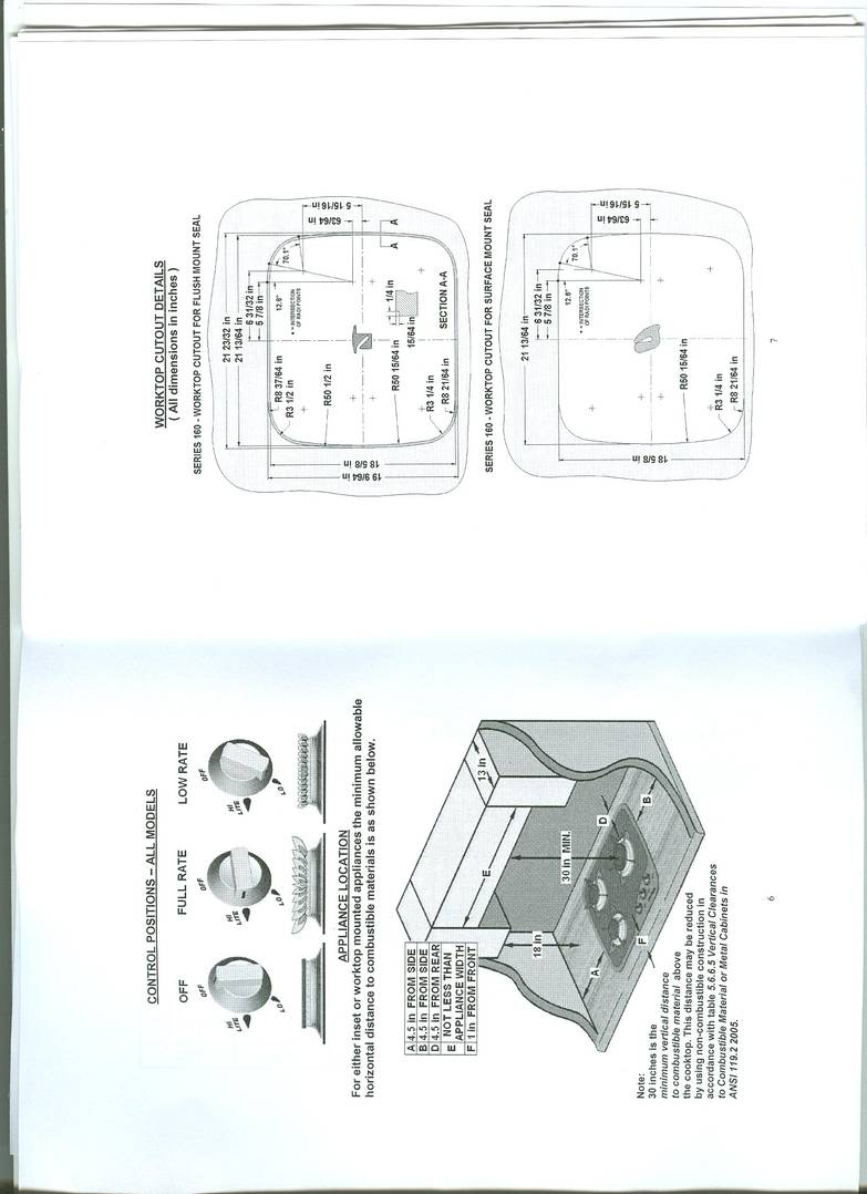Spinflo Cooktop instructions/install booklet p.4