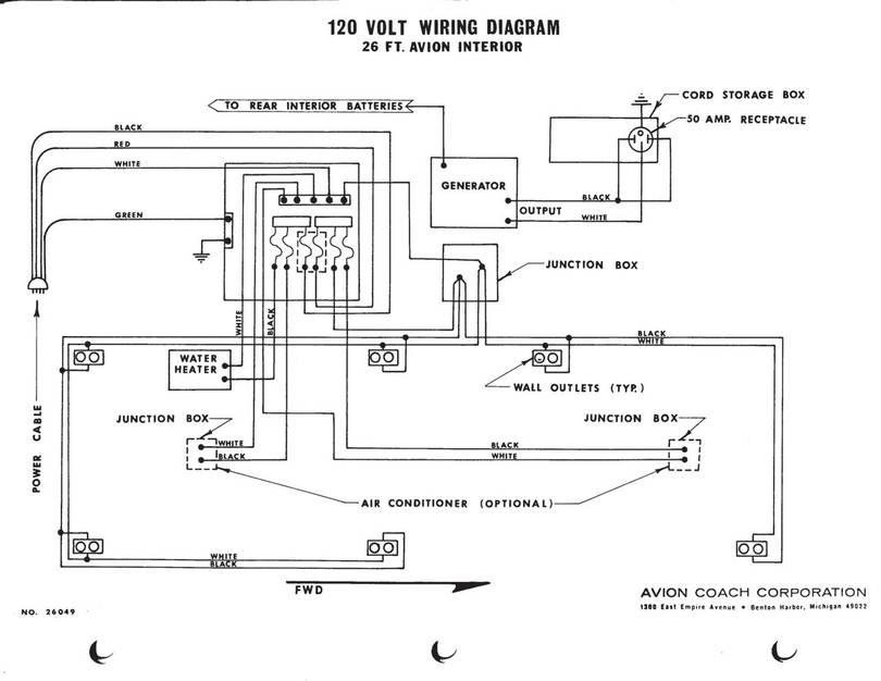 120 vac plug wiring