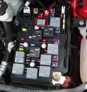 2006 Chevy fuel pump relay problem  GopherHaul