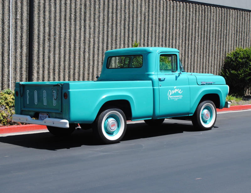 1960 Ford F100 short bed pick up for sale