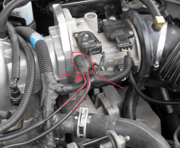 Buick Regal Throttle Body Vacuum Line On Wiring Diagram Buick