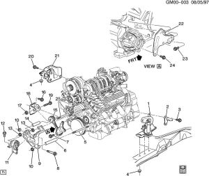 Can't Identify Mount  GM Forum  Buick, Cadillac, Olds