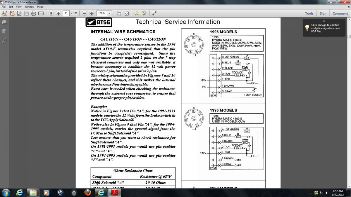 hight resolution of 4t60e wiring diagram wiring library rh 20 codingcommunity de 4t60e shift solenoid location 4t60e valve body