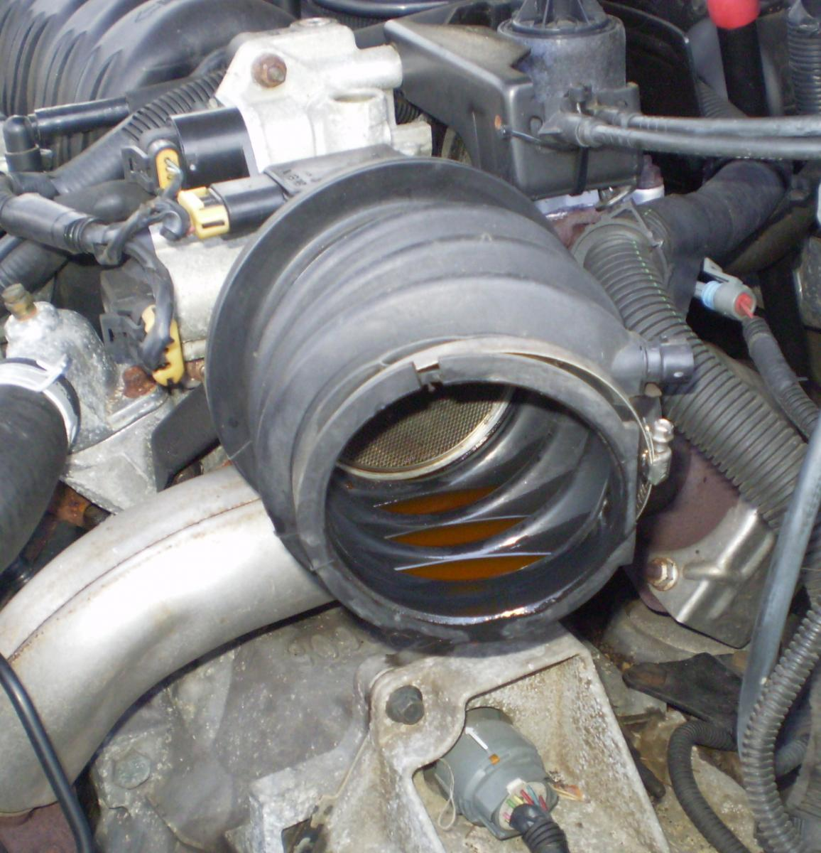 hight resolution of coolant leak intake coolant leak jpg