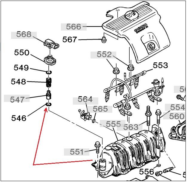 2003 Buick Century Pcv Valve Diagram. Buick. Auto Parts