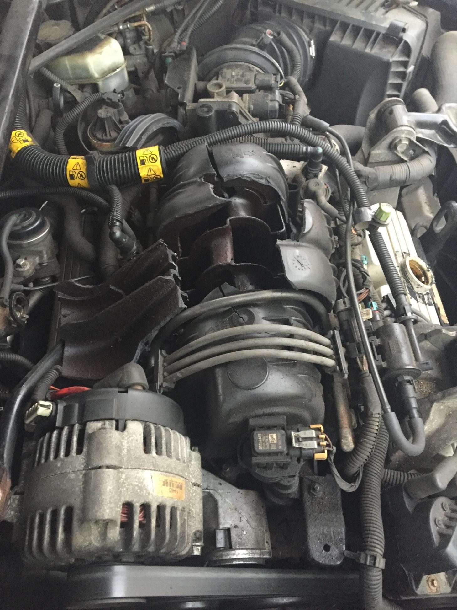 Chevy 2003 Chevrolet Impala Diagram Intake Manifold Exploded Gm Forum Buick Cadillac