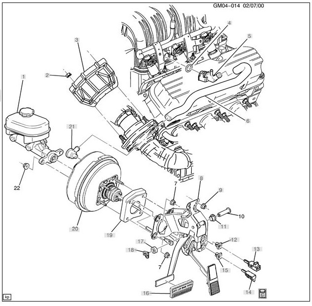 3800 Series 2 Supercharged Engine Diagram
