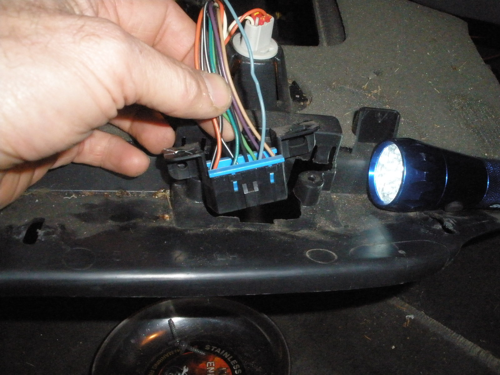 hight resolution of now remove the fuse panel and blinker