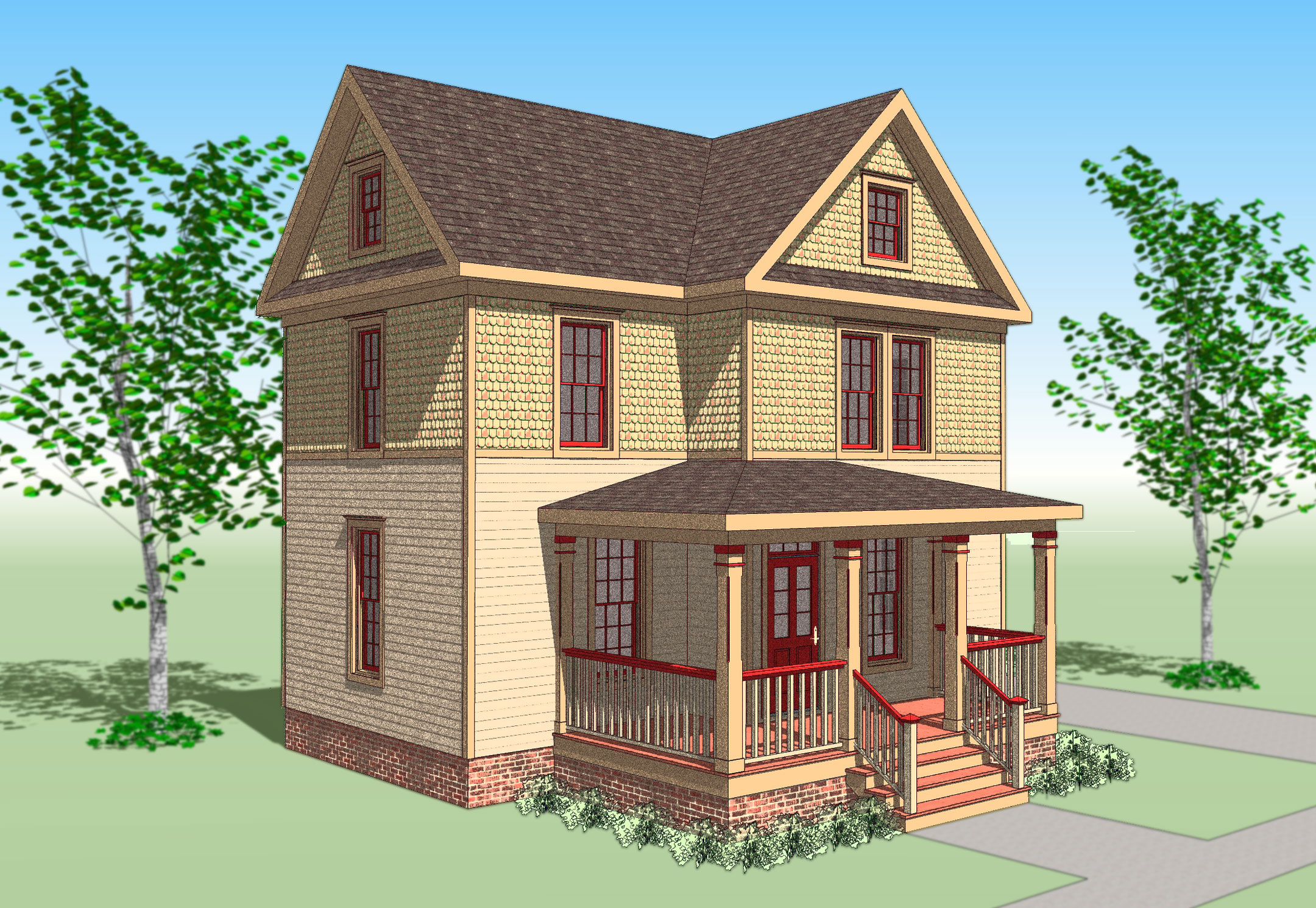The Sears Victorian  GMF Architects  House Plans GMF Architects  House Plans