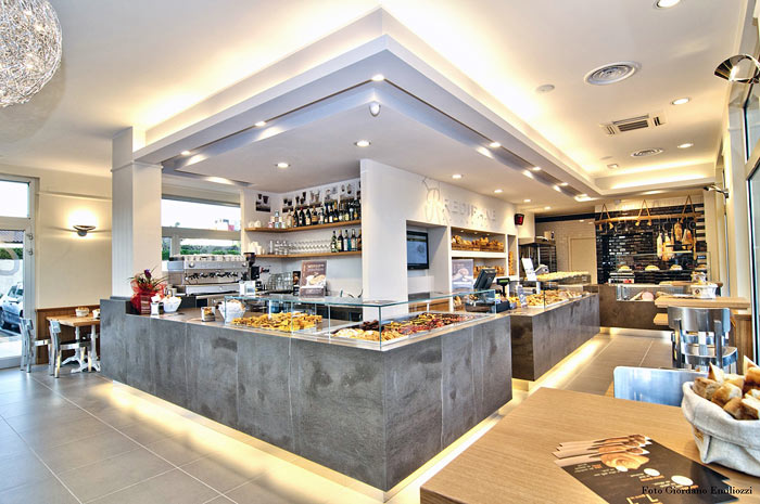 GMG Partners design restructure design oven pizza shop bakery
