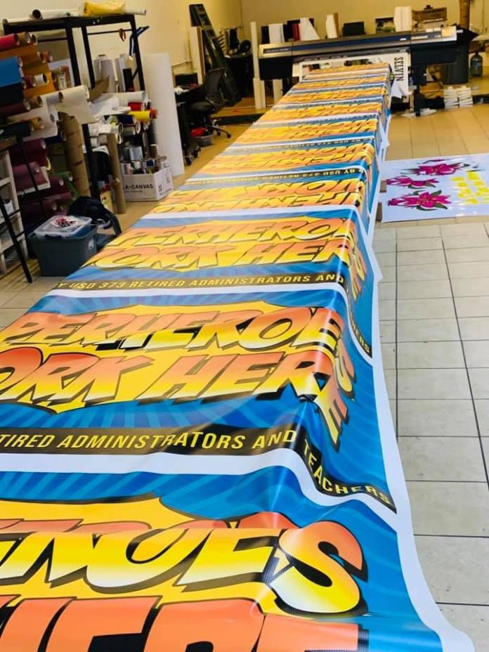 Superheroes Banner