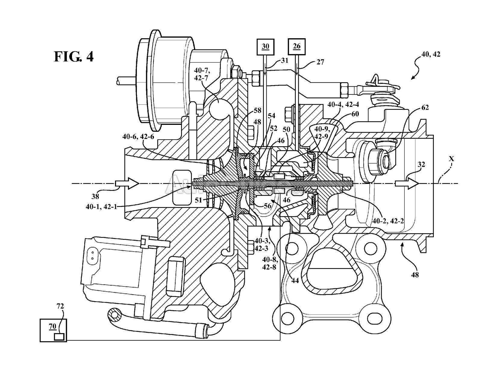 hight resolution of patents reveal gm is working on electric turbochargers