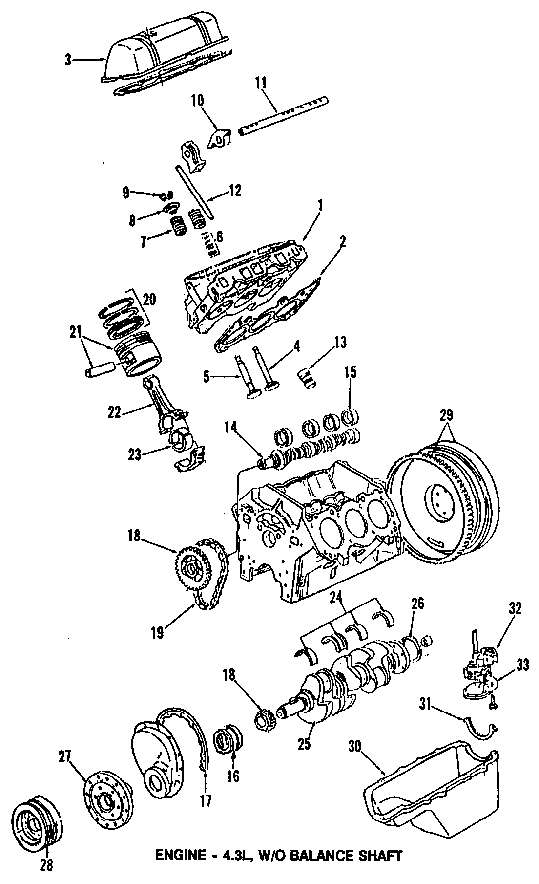 Chevrolet Caprice Engine Cylinder Head Gasket